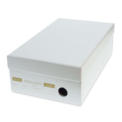 Pudełko czółenkowe z Instrukcją 290X180X95mm